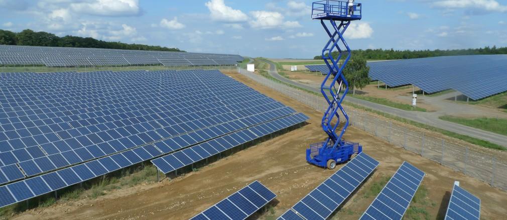 Photovoltaik: Projekt Laudenbach