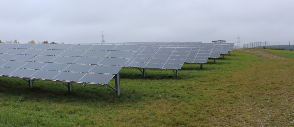 Photovoltaik: Projekt Oberostendorf