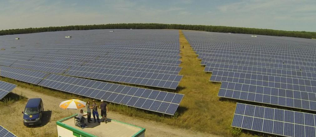 Photovoltaik: Projekt Finsterwalde
