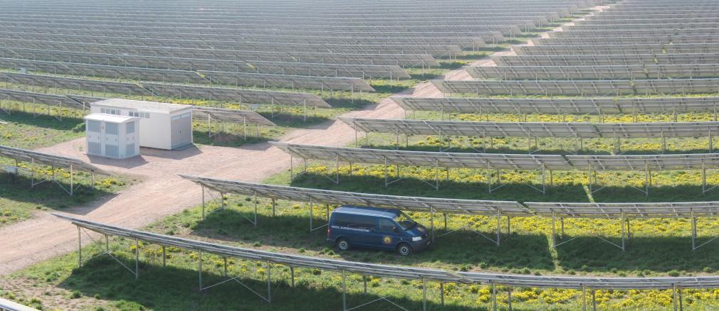 Photovoltaik: Projekt Wallhausen