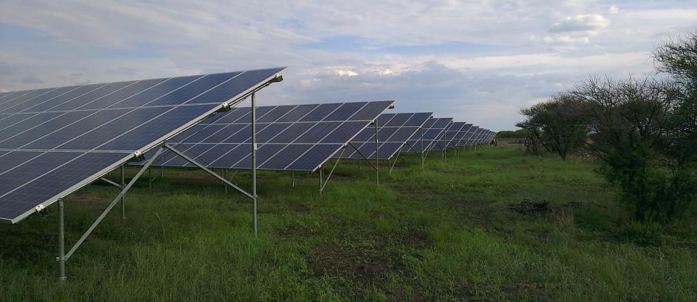 Photovoltaik: Projekt Zimbi
