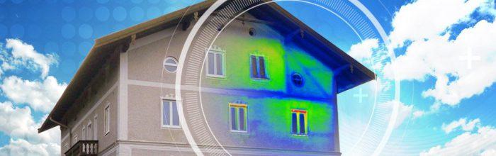 Gebäudethermografie: Unsere zertifizierten Thermografen erkennen Undichtigkeiten, suchen nach Ursachen für Probleme wie Schimmelbildung und erstellen gerichtsfeste Gutachten.