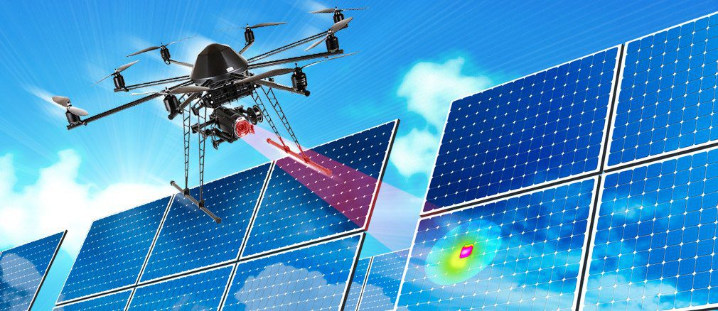 Photovoltaik Thermografie: Bei unseren thermografischen Messungen machen wir ertragsrelevante Mängel von PV-Anlagen jeder Größe sichtbar.